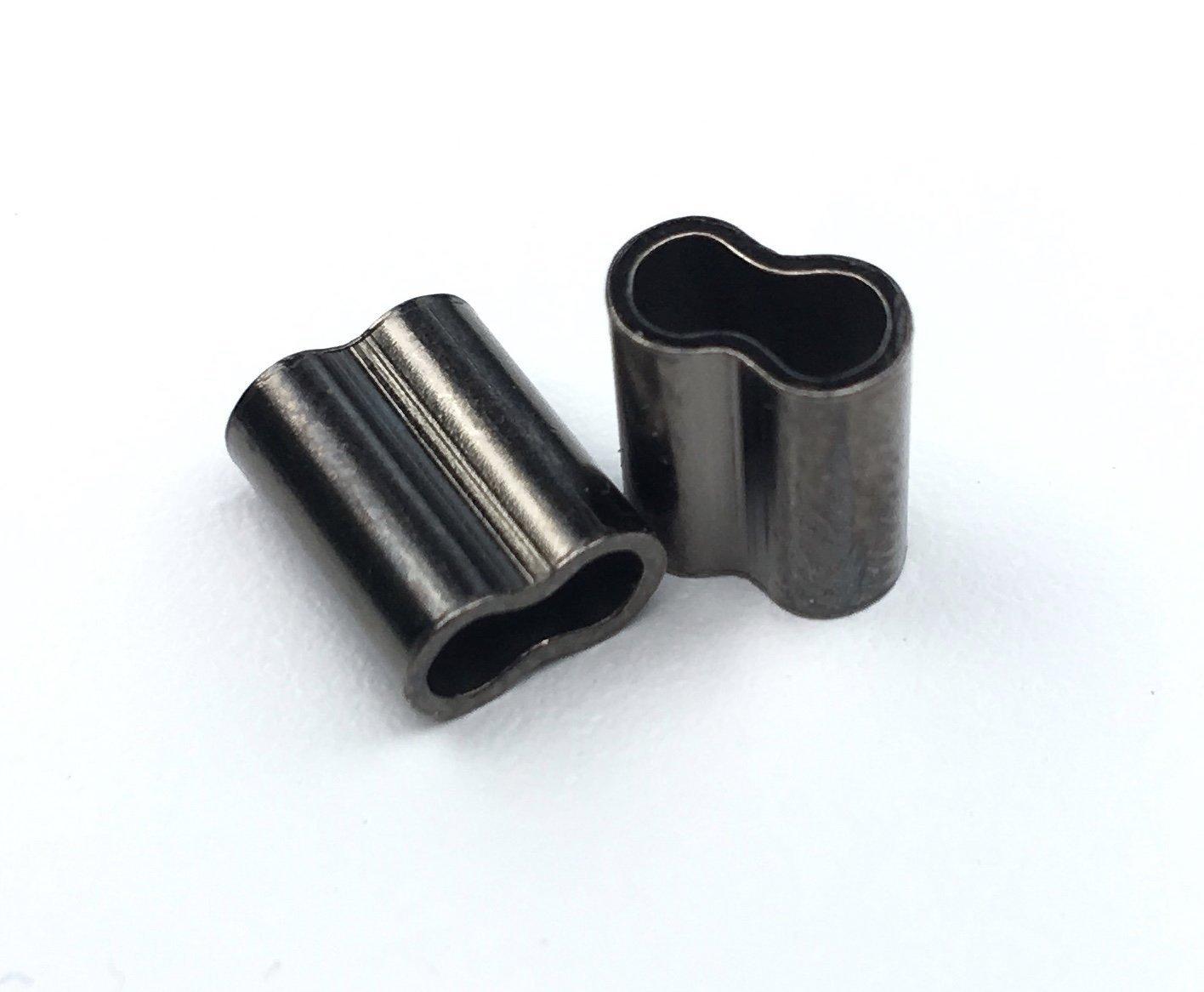 【完売】  (2.5mm (2.5mm x B01MTJN6M7 9mm) Crimp - Mini Copper Double Barrel Crimp Sleeves 1,000 Pieces B01MTJN6M7, ステップスポーツ:d090931d --- domaska.lt