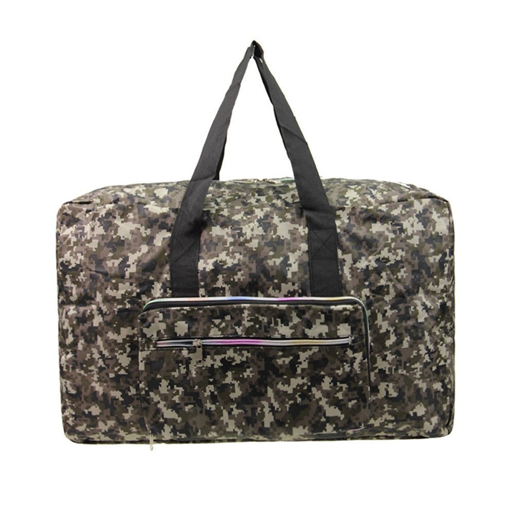 Lightweight #1 Water /& Tear Resistant For Luggage Gym Sports Foldable WERTYCITY 40L Travel Duffle Bag For Women /& Men