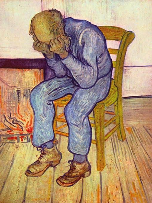 1art1 Vincent Van Gogh - En El Umbral De La Eternidad, Anciano En ...