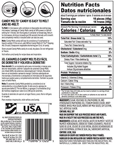 Wilton Bright White Candy Melts Candy, 12 oz.