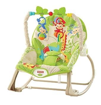 Fisher-Price Hamaca crece conmigo monitos divertidos, silla para ...