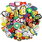 PUTING 50pcs Different Cute Shoes Charms for Clog