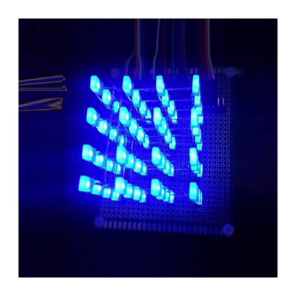 4X4X4 Light Cube Kit Arduino shield LED DIY suite Kit Blue Würfel LED kit