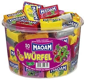 Maoam Cubes, 50 pcs