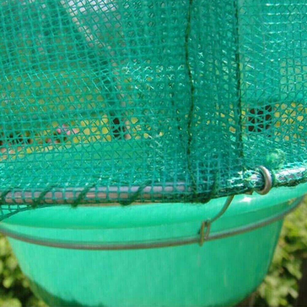 PoeHXtyy Reutilizable Rancho Trampa de la Mosca Colgando Jaula al Aire Libre efectiva Trampa jam/ás Hecha con Cebo de Alimentos Catcher