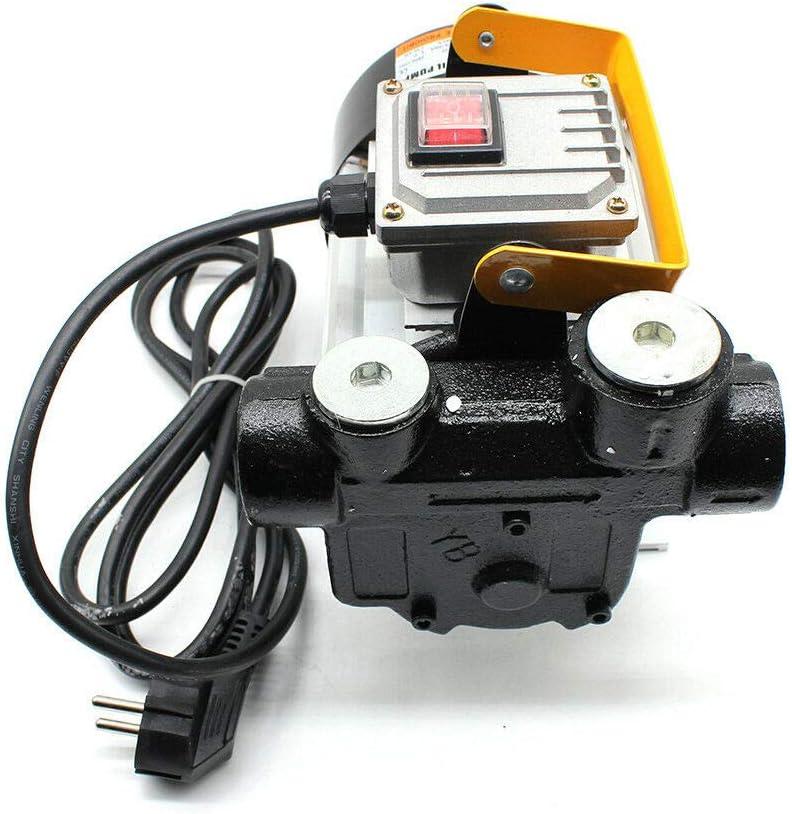 Dieselpumpe 550W Dieselpumpe Selbstansaugend Fasspump,Kraftstoffpumpe Dieselpumpe /Ölf/örderpumpe f/ür Diesel /& Heiz/ölpumpe 60 l//min 230 V
