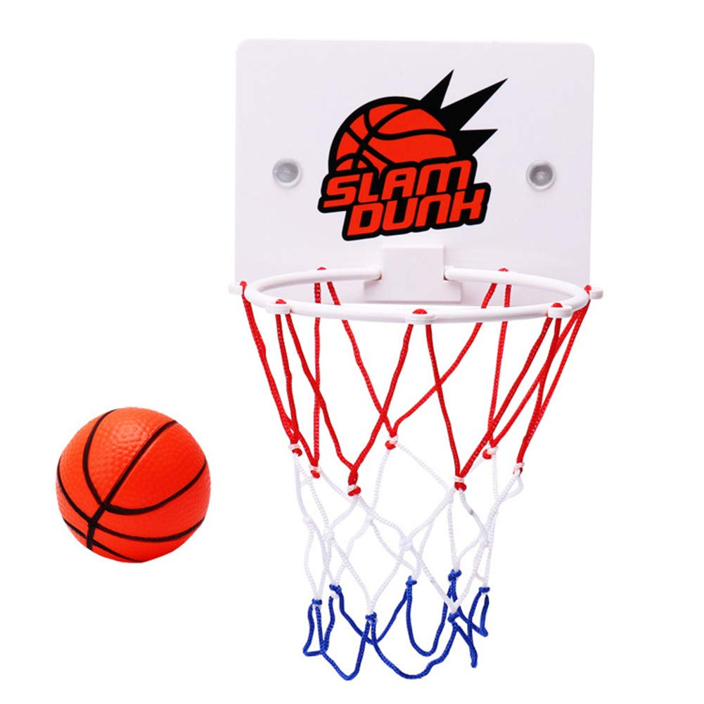 saugen Wandhalterung mit Pumpe Sport Spielzeug Set Tutyuity Kinder Mini Basketballkorb Spielzeug