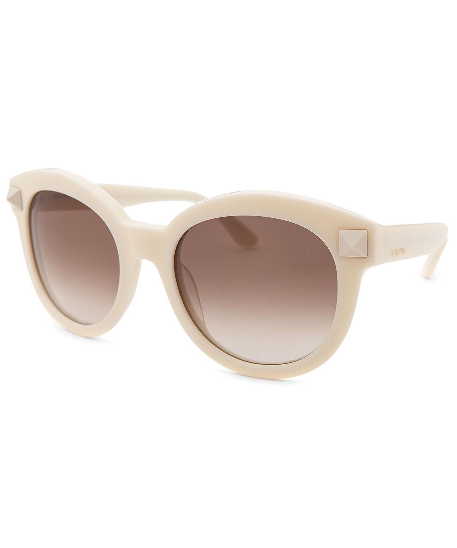 75488a8369cc VALENTINO V684S Sunglasses 103 Ivory 54-21-135: Amazon.co.uk: Clothing