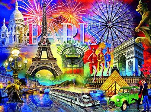 Paris Puzzle - Cities Collection - 1000 Pieces -