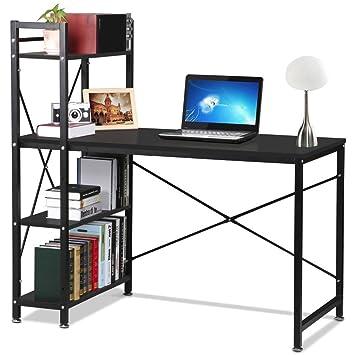 Popamazing Computer Desk Study Table Workstation Pc Laptop Desks