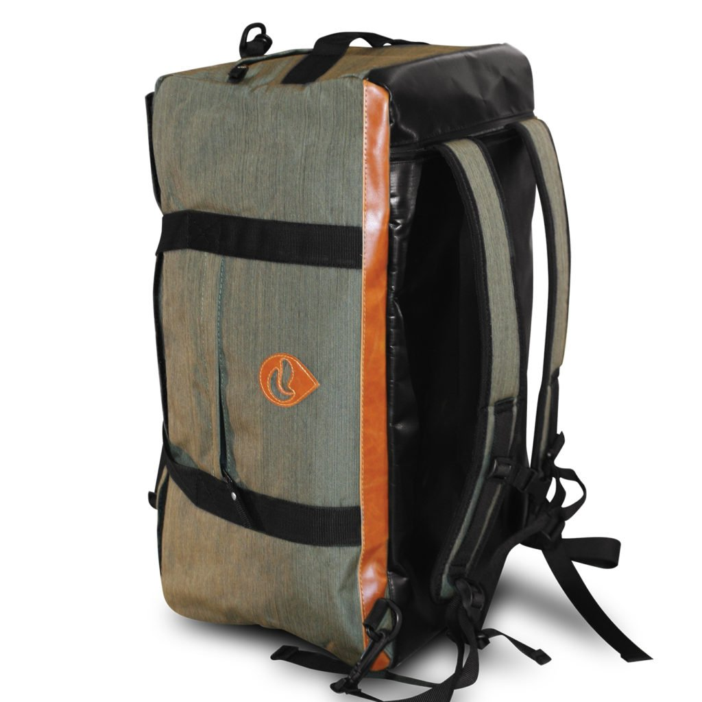 Skunk Hybrid Backpack/Duffle - Smell Proof - Water Proof - Hydroponics (Olive Green) US PATENT NUMBER D819327 by Skunk