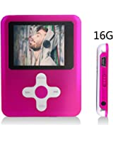 ACEE DEAL 16GB Video Player (Light Pink)