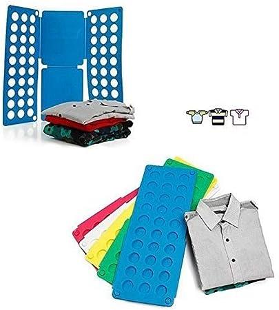 Ducomi® - Doblador de ropa para doblar rápidamente camisas, vestidos, pantalones, camiseta. Accesorio para doblar ropa.: Amazon.es: Hogar
