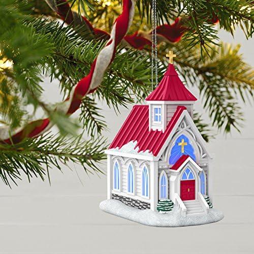 Hallmark Keepsake 2017 Candlelight Service Christmas Ornament Hallmark Cards 1795QGO1305