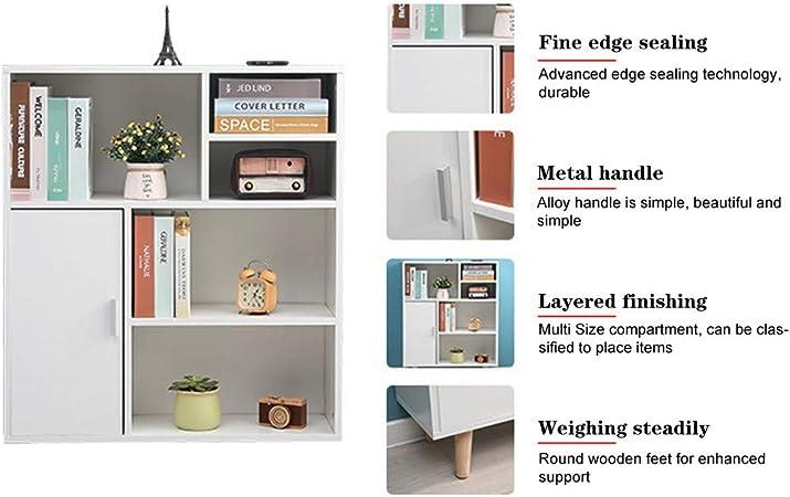 Amazon Com Letong Bookcase Bookcase Living Room Study Locker Home Storage Cabinet Multifunctional Storage Bookshelf Home Kitchen