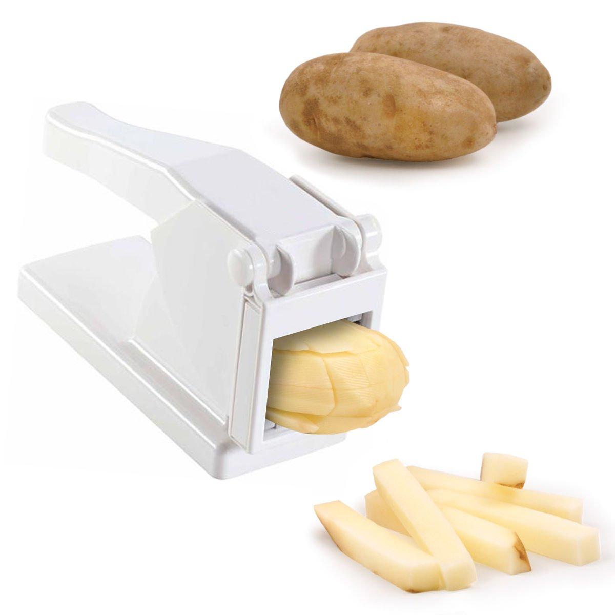 Amazon.com: French Fry Cutter by Cobble Creek Potato Press Slice ...