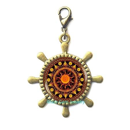 Tirador de cremallera para mandala de chakra sacral ...