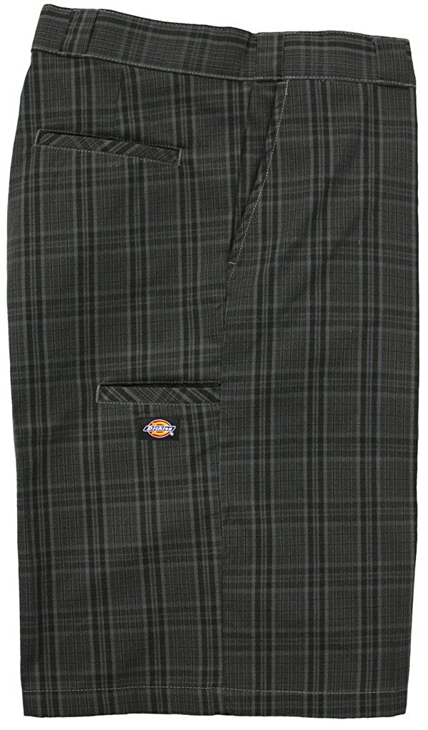 Dickies Big Men's Multi-Pocket Plaid Shorts - Regular Fit