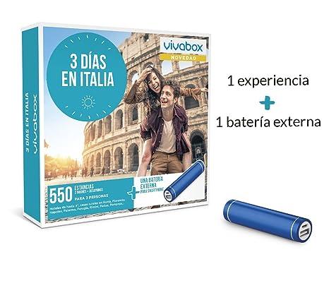 VIVABOX Caja Regalo -3 DÍAS EN Italia- 550 estancias ...