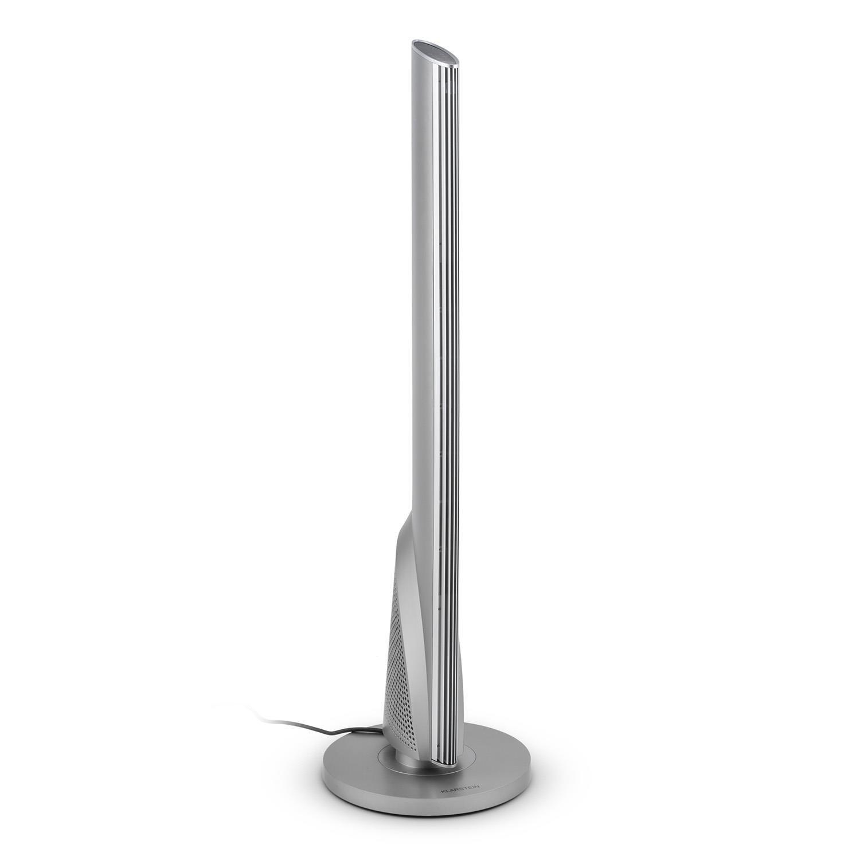 Klarstein Skyscraper Heat • Calefactor de Torre • termoventilador • oscilación • 1600 ó 2500 W • Temperatura Ajustable gradualmente • Temporizador • Control Remoto • Plata