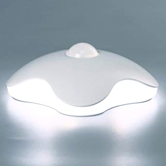 LED Sensor Night Light Cordless Battery Operated Pack of 2 Indoor Wardrobe
