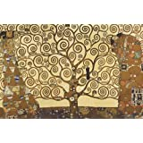 Póster El árbol de la vida de Gustav Klimt