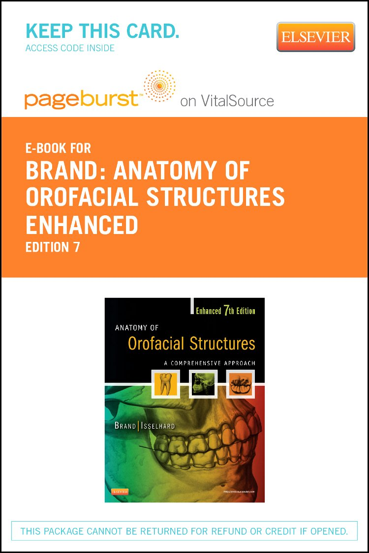 Anatomy Of Orofacial Structures Enhanced 7th Edition Elsevier