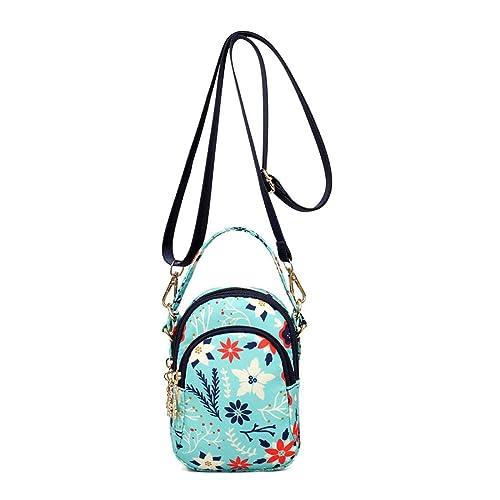 36f4d1599f1f Amazon.com: Crossbody Bags For Women Travel Purse Handbag Oxford ...