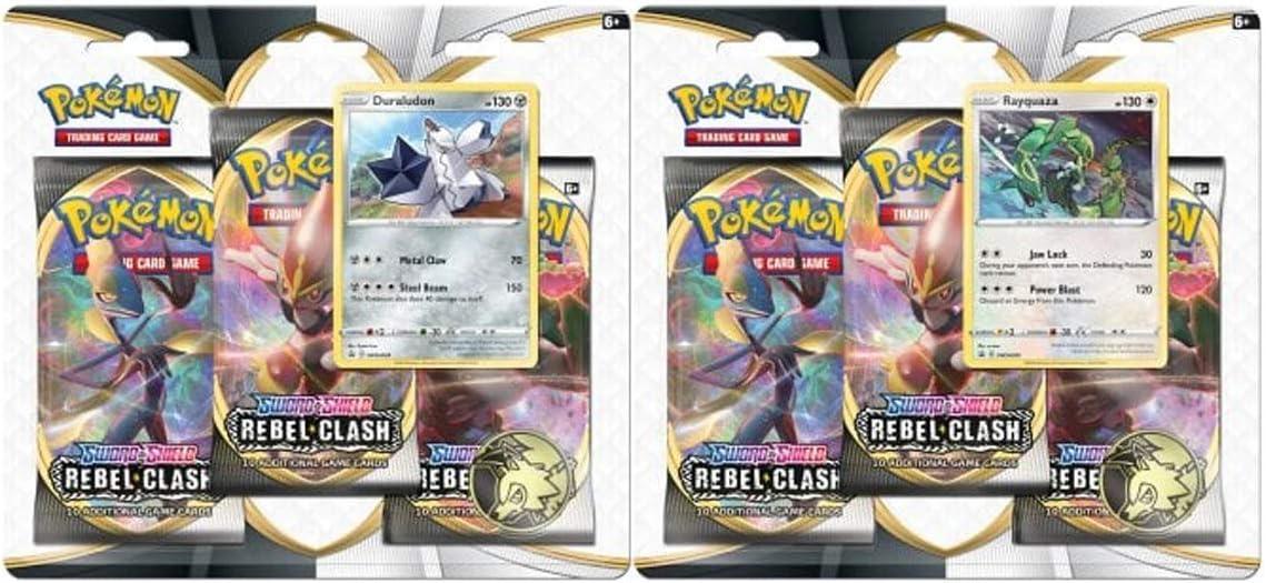 Pokemon D12 TCG: Espadón y Escudo de 3 Unidades: Amazon.es: Juguetes y juegos