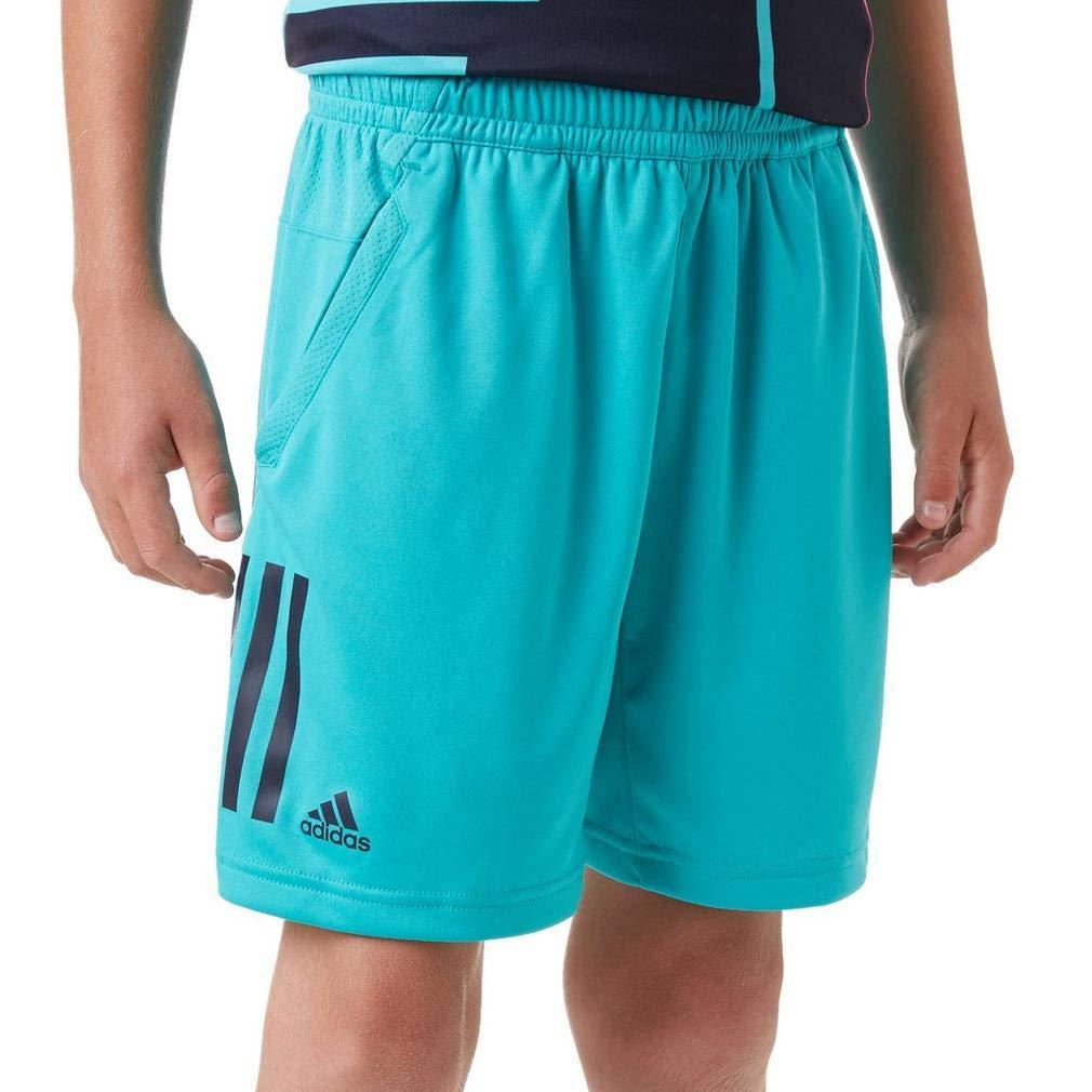 Adidas Club 3 Stripes - Pantalones Cortos de Tenis para niño DH2774