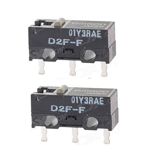Amazon com: Qty 2 Japan OMRON D2F-F Ultra Subminiature Basic
