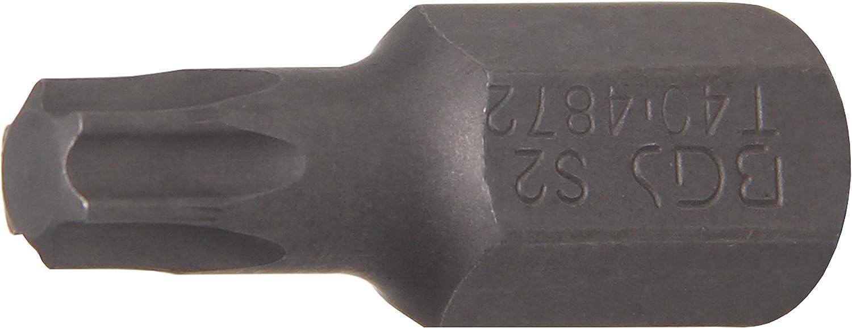 Embout | profil T 10 mm BGS 4871 3//8 T30 pour Torx