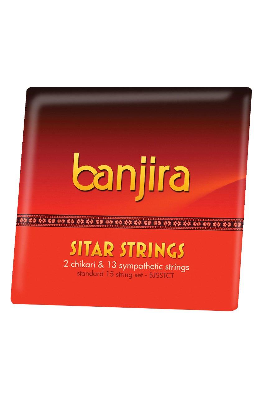 banjira Sitar Chikari and Symp String Set BJSSTCT