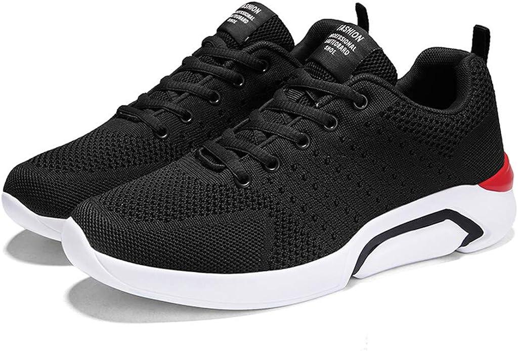 Darringls Zapatillas de Deporte con Cojines de Aire Calzado de Running Net para Estudiante Volar Zapatillas Deportivas de Hombre Zapatos Tejidos Gimnasia Sneakers 39-44: Amazon.es: Ropa y accesorios