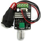 Adjustable Reversible Motor Driver Switch UEETEK 1203BB 6/V 12/V 24/V 3/A 80/W DC Motor Speed Controller PWM