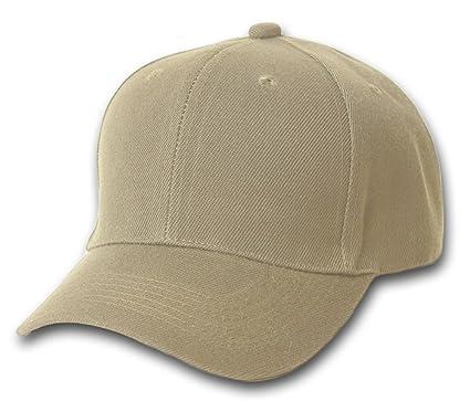 mens wool baseball hat starter cap vintage plain summer khaki