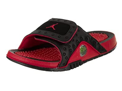 bae82ac09da64 NIKE Air Jordan Hydro13 XIII Sandal Slide Black Red (13 D(M) US ...