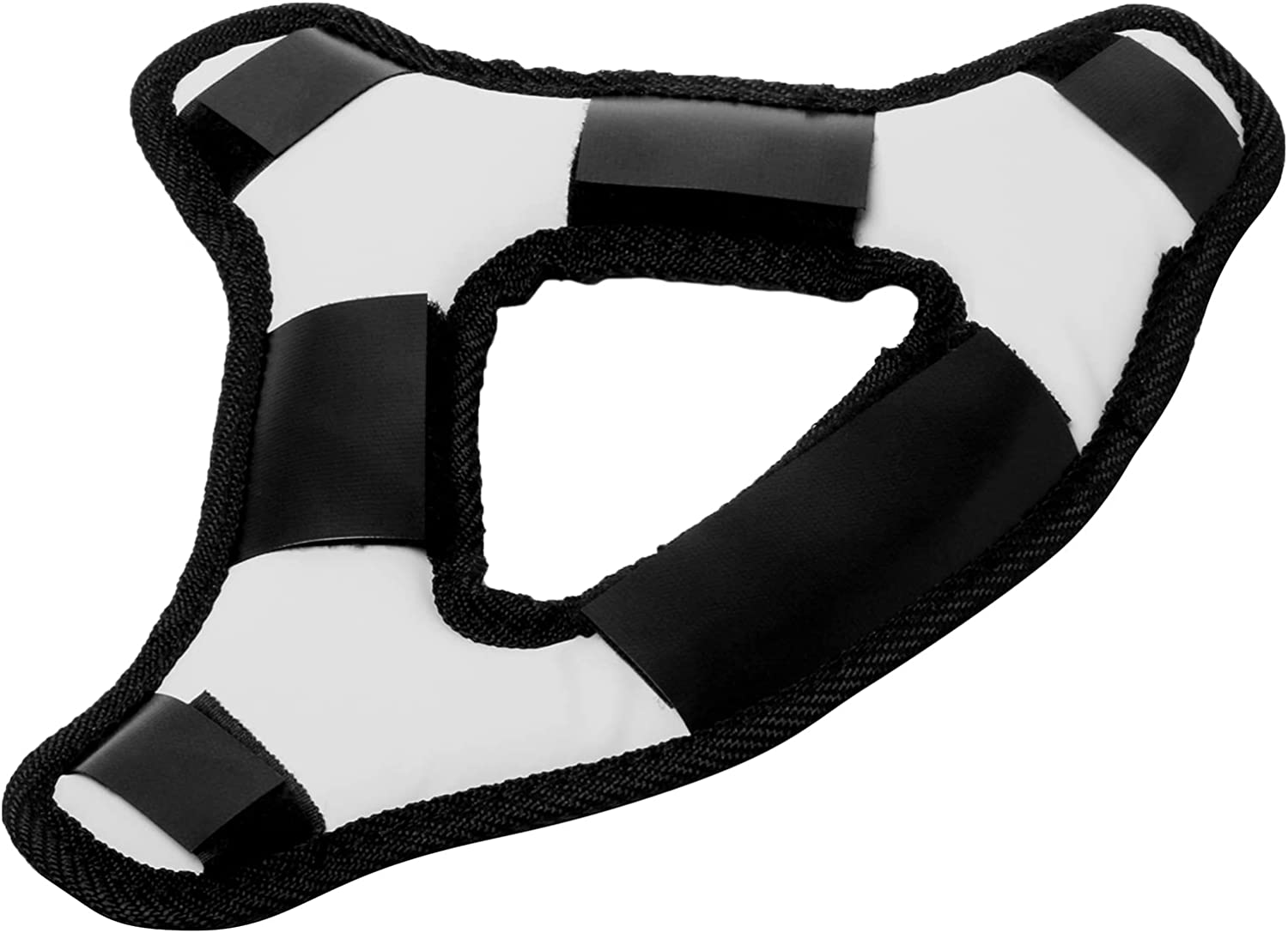 Comfortable Headband VR Head Strap Fits for Oculus Quest 2 Gaming Headset Reduce Head Pressure Protect Head Pad (White)