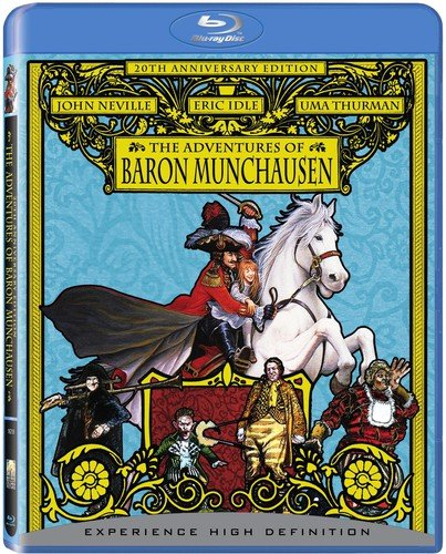 The Adventures of Baron Munchausen [Blu-ray] (The Adventures Of The Baron Of Munchausen)