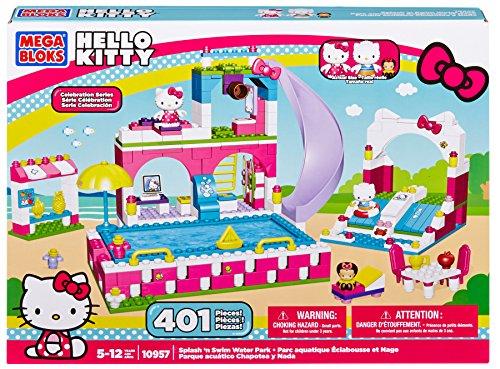 (Mega Bloks Hello Kitty Splash N' Swim Water Park)