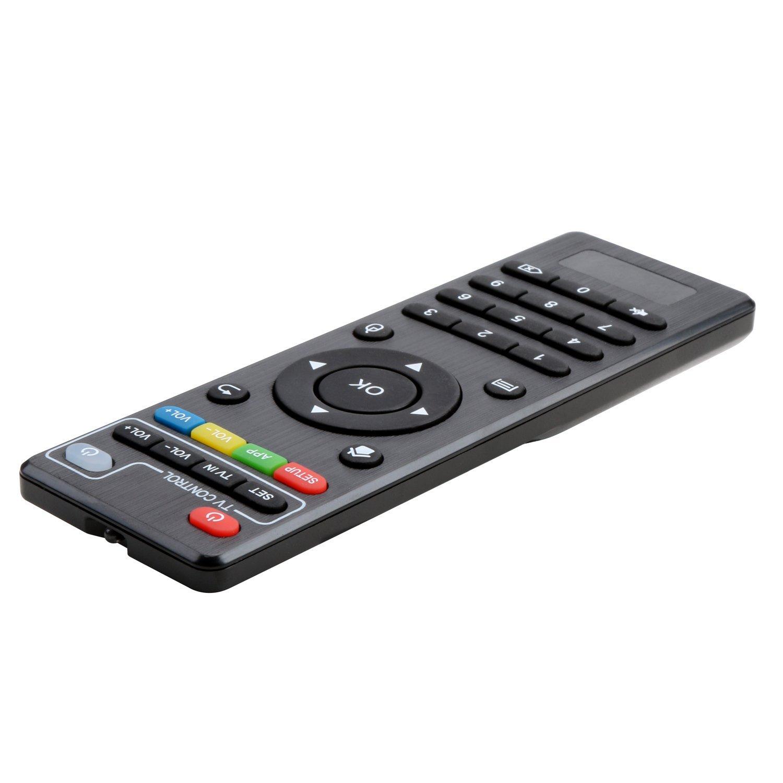 Reemplazo Mando a distancia Para Android Smart TV Box KODI IPTV Media Player (Sólo se adapta a nuestra MXQ MXQpro Tv Box): Amazon.es: Electrónica