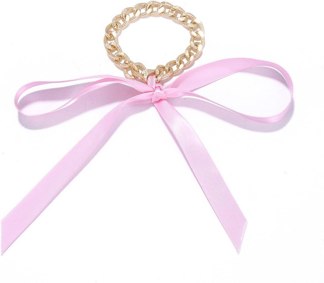 Bracelet de cheville dor/é avec un ruban pour chaussures /à talons hauts Kercisbeauty