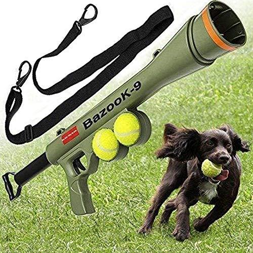 VAXT Sizing 52  19  9cm, Organize Pet Supplies Toy Training Dog Launcher Firing Gun Distant Speed Aiming Tennis Launcher