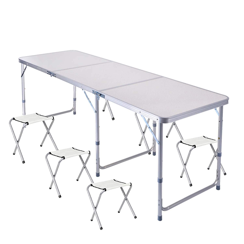 mesas plegables para barbacoa weber