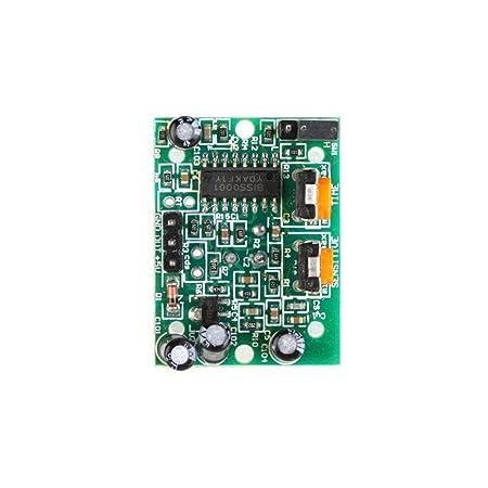 Solu 5 piezas piroeléctricos infrarrojos módulo Sensor de movimiento PIR Detector HC-SR501 Arduino// Sensor infrarrojo Sensor piroeléctricos Detector módulo ...