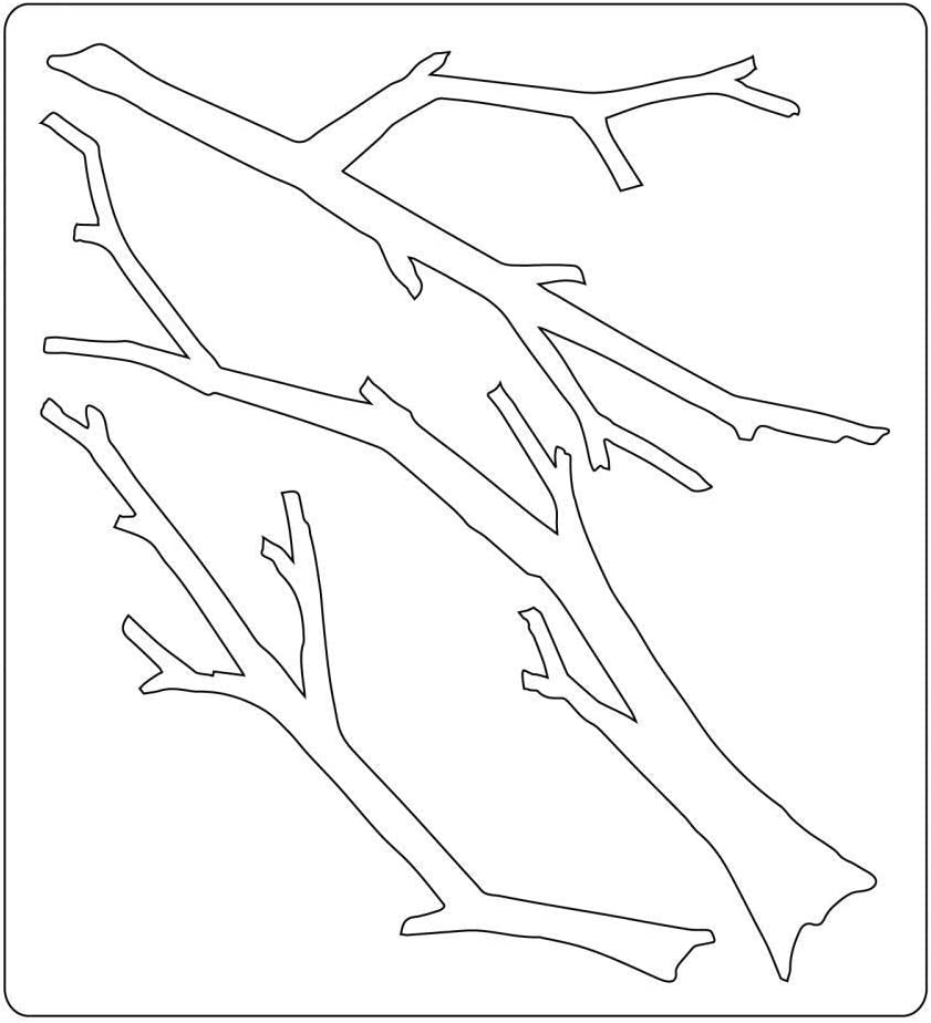 Branches by Tim Holtz Sizzix 663138 Bigz Die Brown