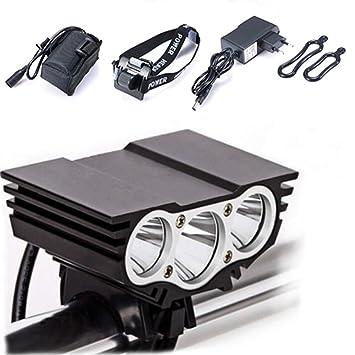 Lámpara de la Bici del búho, LED Frontal para Manillar de ...