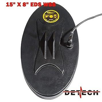 DETECH - Bobina WSS MONOLOOP para detectores de Metales Minelab SD/GPX con Protector de Bobina Incluido: Amazon.es: Jardín