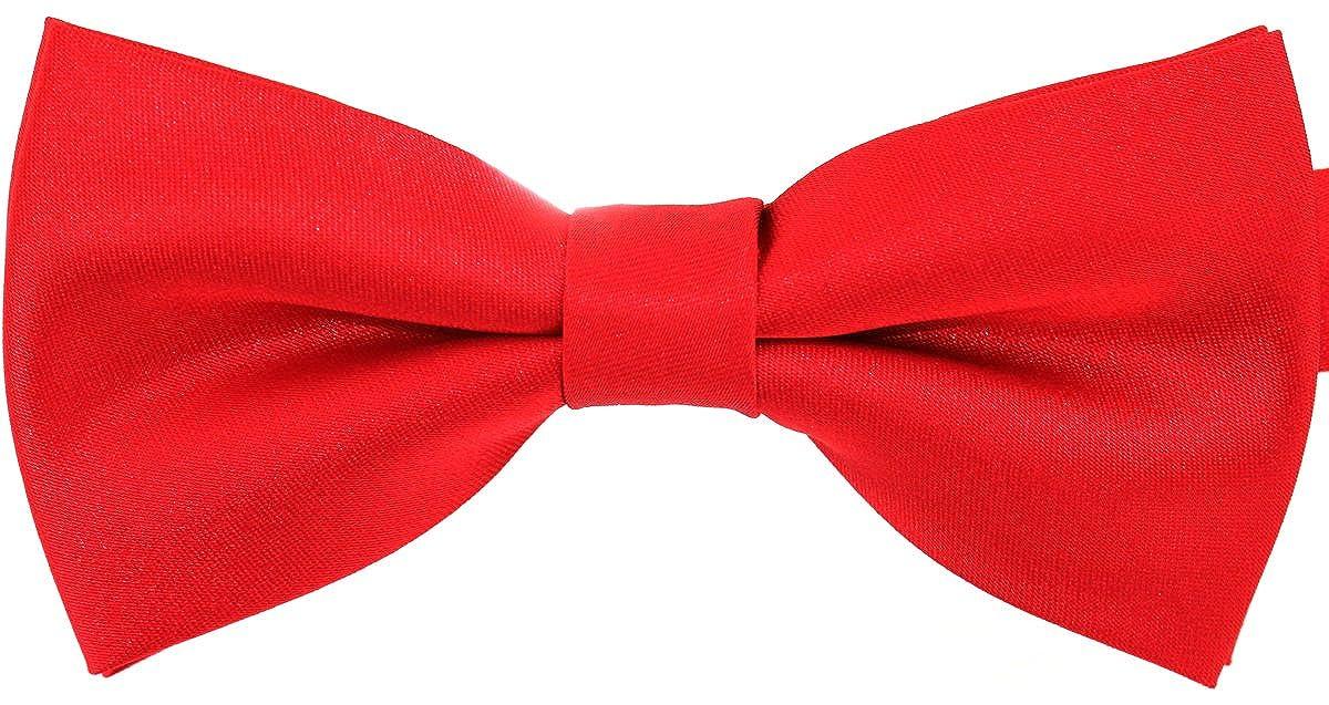 Tok Tok Designs Handmade Boys Bow Ties BK2 Red