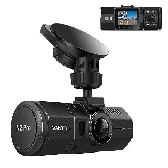 In Car Camera >> Vantrue N2 Pro Uber Dual Dash Cam Infrared Night Vision Dual 1920x1080p Front And Inside Dash Camera 2 5k 2560x1440p Single Front 310 Degree Car